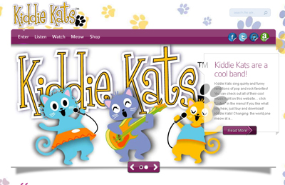 Kitty Kats music for children
