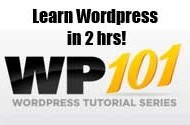 Free WordPress 101 video training for beginners