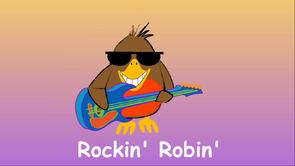 New Rockin Robin animated music video
