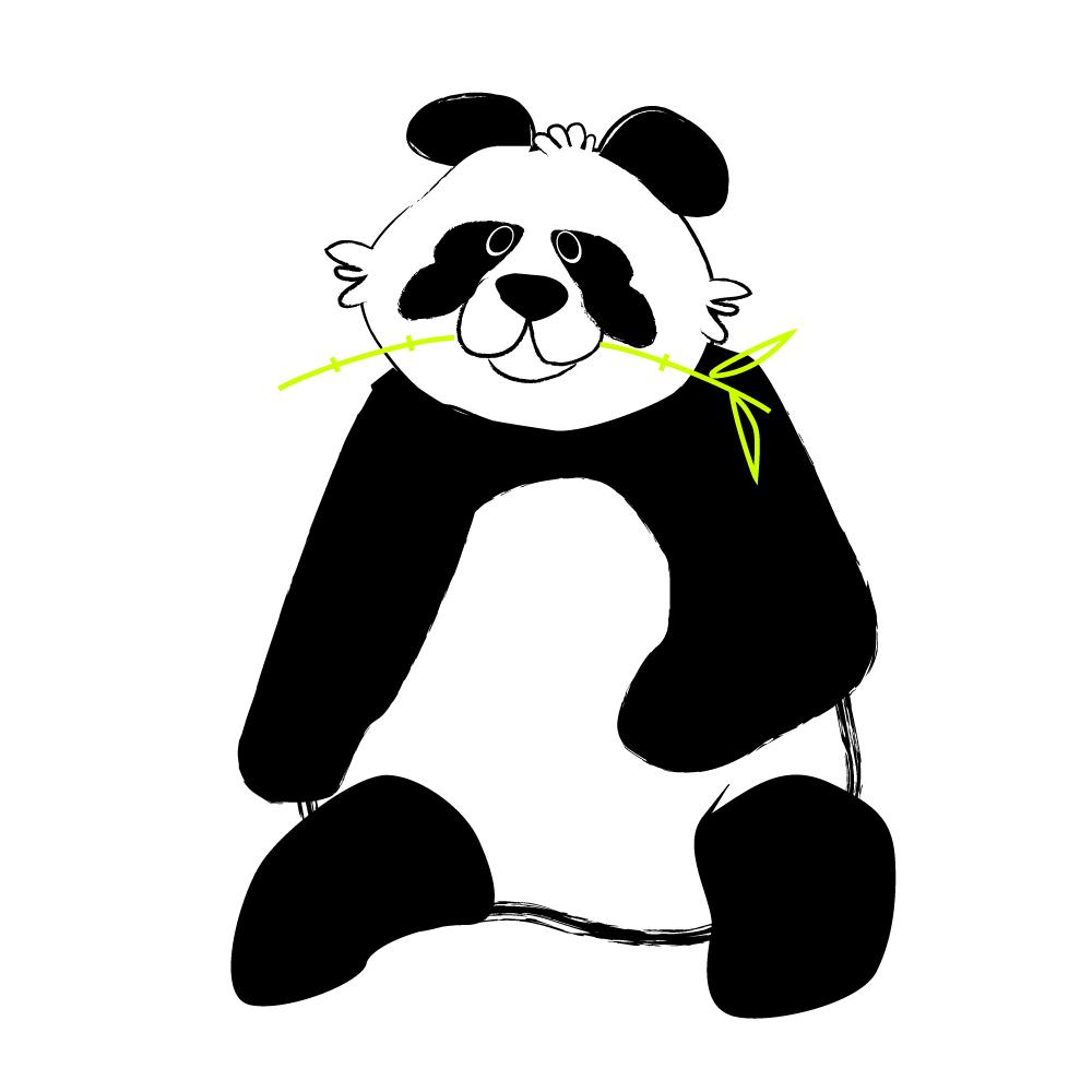 panda by Julia Roh